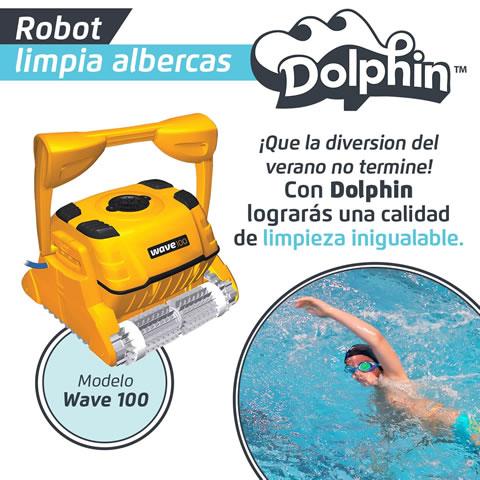 Venta de robots para limpiar albercas