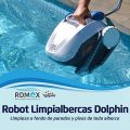 Robots limpiadores de albercas